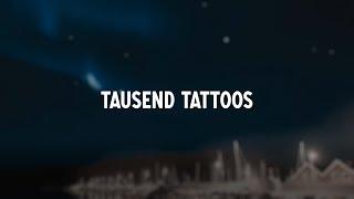Sido - Tausend Tattoos (Lyric Video)