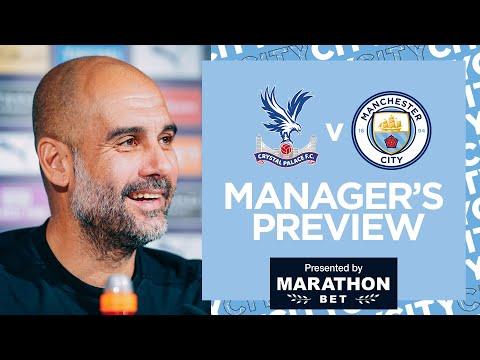 PEP PRESS CONFERENCE! | Crystal Palace v City | Premier League