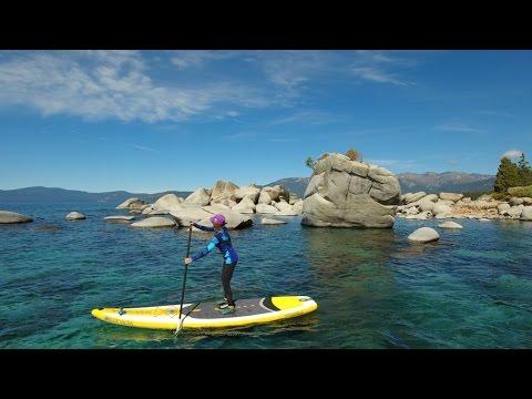 Lake Tahoe Paddleboarding