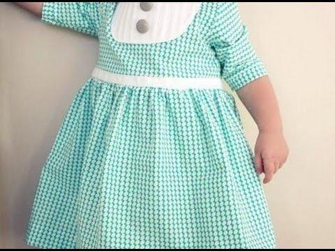 Сшить детское платье из футболки