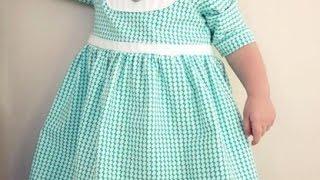 Как сшить детское платье своими руками