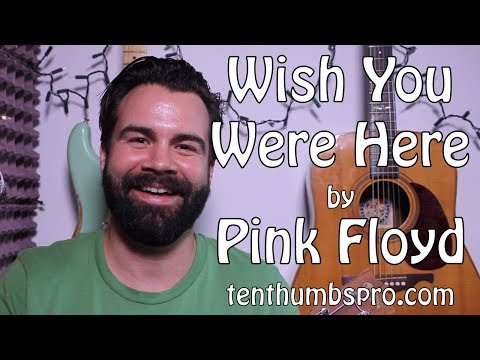 Pink Floyd - Wish You Were Here - Full Ukulele Tutorial with solo, intro, tabs