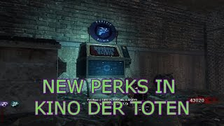 Black Ops 1: Kino Der Toten with 13 perks + perk powerups gameplay (mod)