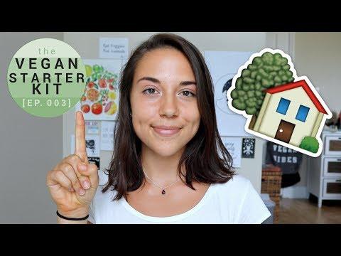 Tips to go Vegan in a NON-Vegan Household (Parents, Roommates, etc)