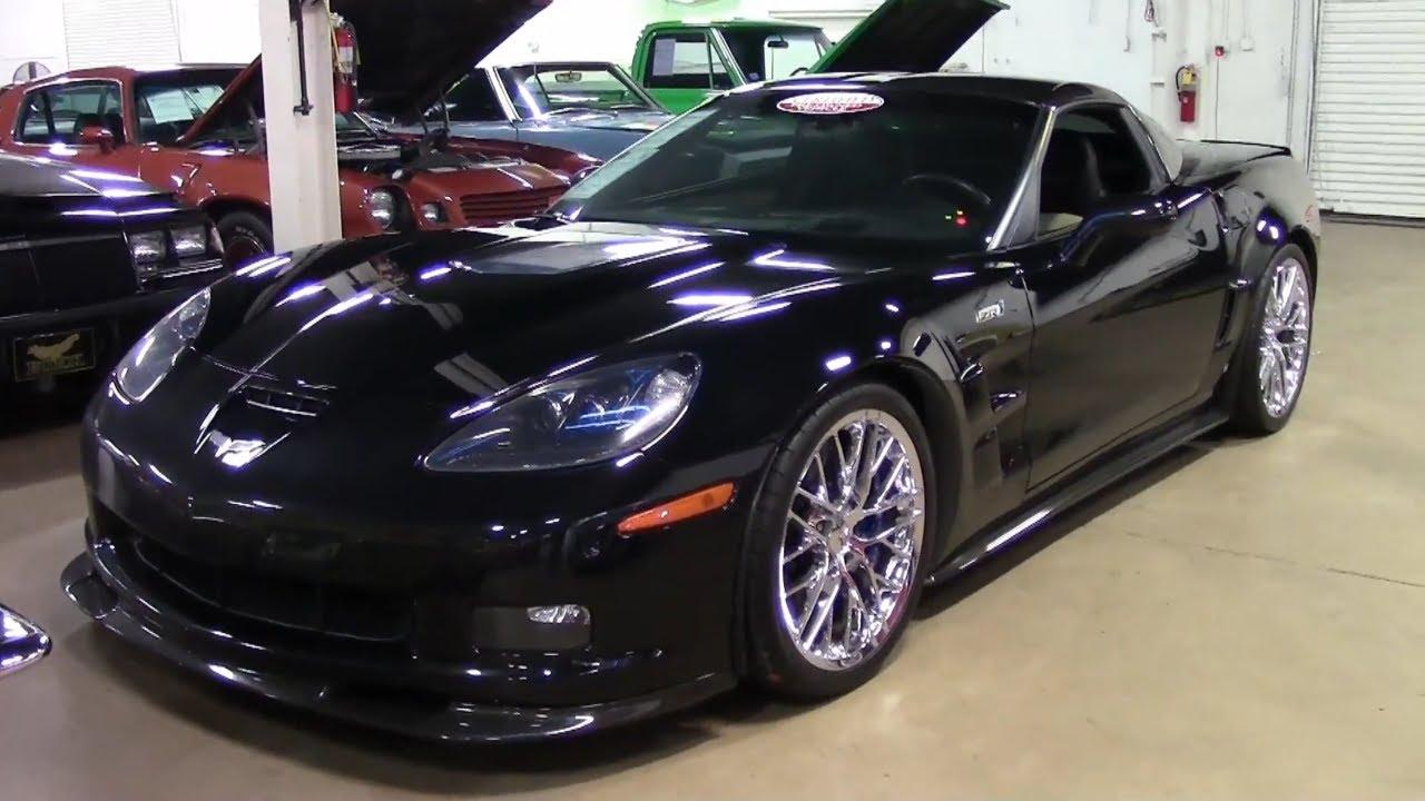 2009 Corvette ZR1 3ZR - YouTube