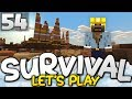 A TRIP TO THE MESA!!!  - Survival Let's Play Ep. 54 - Minecraft Bedrock (PE W10 XB1)