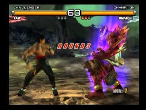 Tekken 5 Law vs Jinpachi - YouTube
