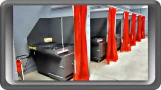 Diversitech - Downdraft Table Demonstration - Plasma & Oxy Cutting Tables