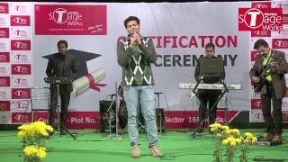 Prateek Walia | Certification Ceremony | T-Series StageWorks