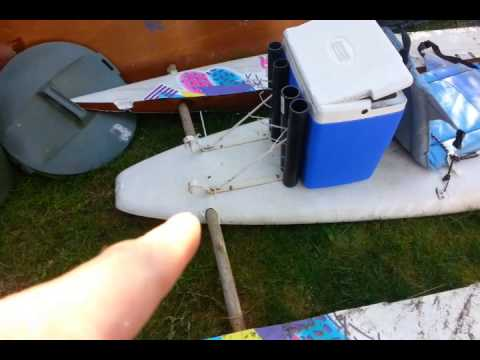 DIY Catamaran / Paddle board / Fishing Kayak
