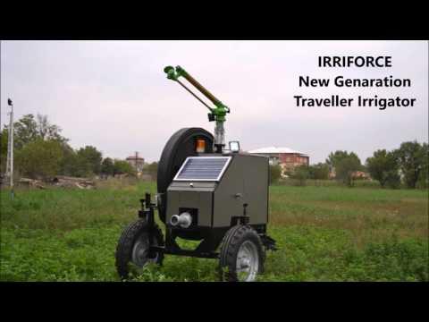 Yuzuak Sprinklers And IRRIFORCE Traveller Irrigator