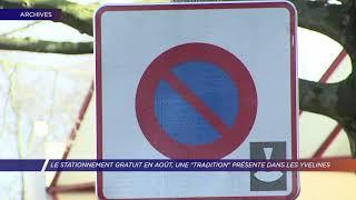 Yvelines | Stationnement en août, la gratuité dans les communes yvelinoises