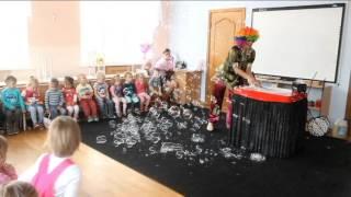 шоу мыльных пузырей в детском саду Краснодар