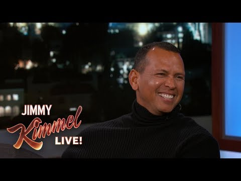 Alex Rodriguez on Dating Jennifer Lopez