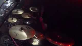 VESANIA@Marduke's Mazemerising-live in Zabrze-Poland (Drum Cam)