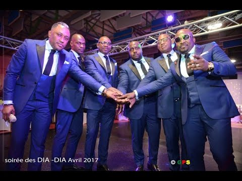 SOIRÉE DE GALA  DU COLLECTIF DIA DIA INTERNATIONAL ( 2017 )
