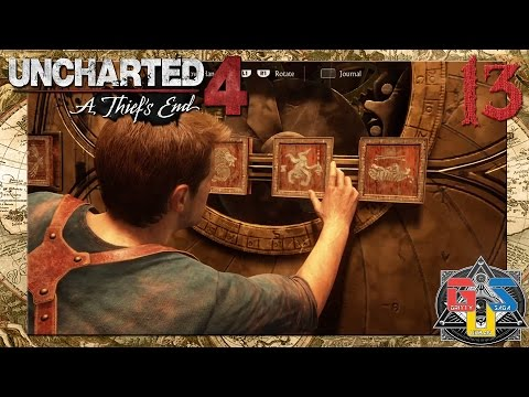 Uncharted 4: A Thief's End - Walkthrough Part 13 | MONKEY PUZZLE w/ England Malik and al-Basra