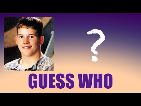GUESS WHO: Celebrity Yearbook Pics
