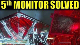 Destiny: 5th MONITOR SOLVED! (Walkthrough) | Wrath of the Machine Exotic Raid Pulse Rifle Quest