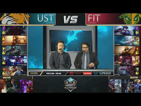 Thumbnail: 2017 Lol Varsity League Summer | Week 2 | FIT vs UST Game 2/2