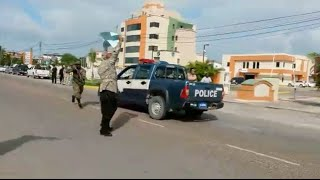 Protestas en Belice por visita de Jimmy Morales