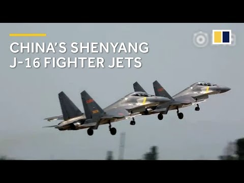 Made in China: Shenyang J-16 fighter jets appear in air force video