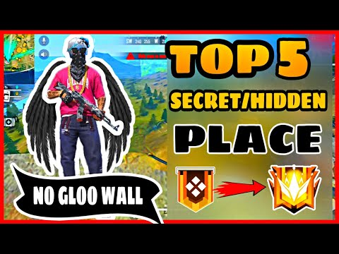 FREE FIRE || TOP 5 FRESH HIDDEN/SECRET PLACE || FRESH SECRET PLACE FREE FIRE-BEAST IAS