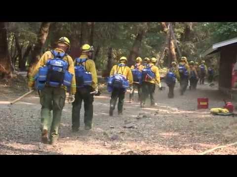 California National Guard Wildland Firefighting Task Force
