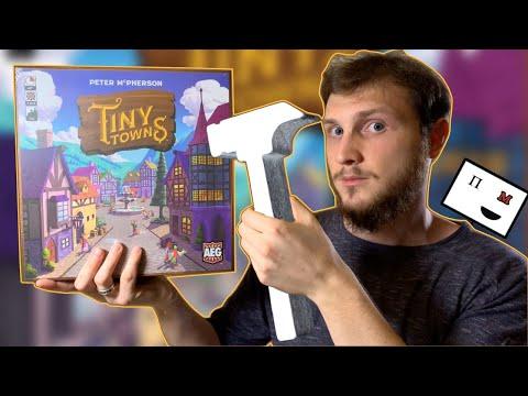 Понастолим в настольную игру Крошечные города / Tiny Towns 🏘