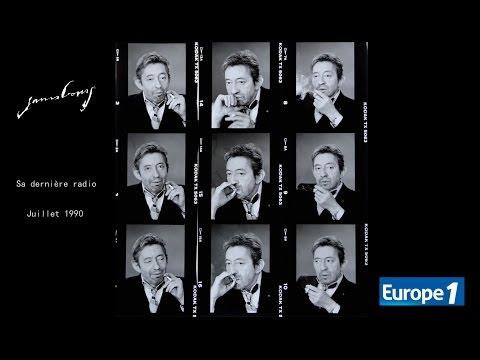 Serge Gainsbourg Inédit -  Sa dernière radio (Juillet 1990 - Europe 1)