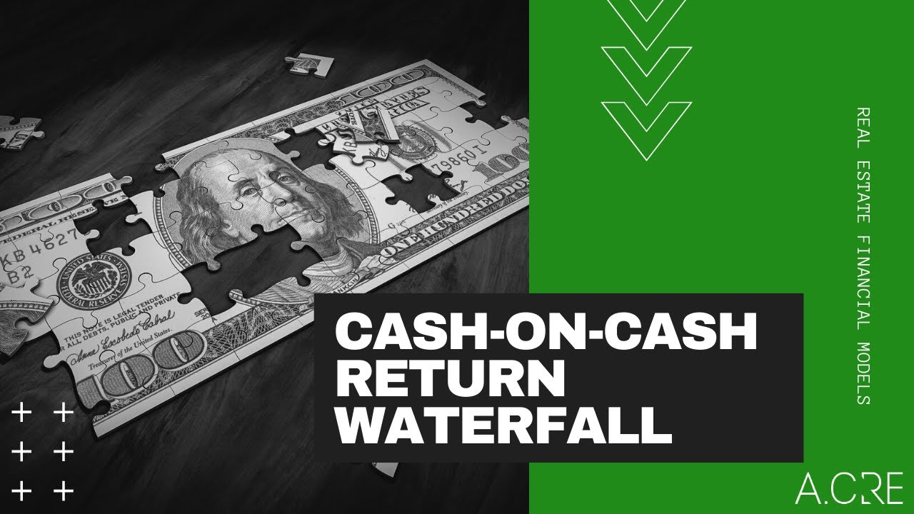 Real Estate Equity Waterfall Model with Cash on Cash Return Hurdle