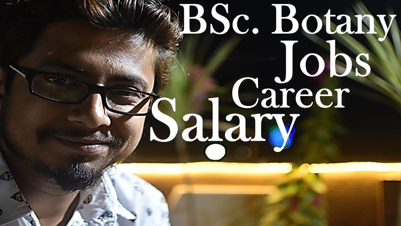 botany careers salary
