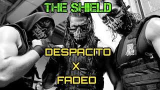 WWE SHIELD DESPACITO X FADED TRIBUTE