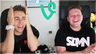 REACTING TO SIDEMEN VINES WITH ETHAN!!!
