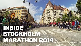 Be in the lead of ASICS Stockholm Marathon 2014 - GoPro Time-Lapse (POV)