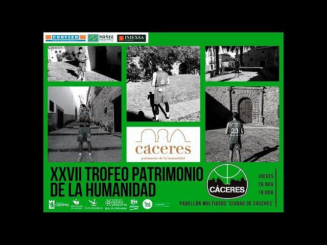 XXVII Trofeo Patrimonio de la Humanidad: Cáceres Patrimonio de la Humanidad - Torta del Casar Extr.