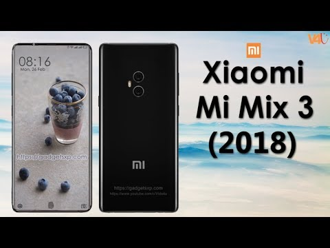 Xiaomi Mi Mix 3 Release date, Price, Specifications, Camera, First Look, Features, Concept, Launch
