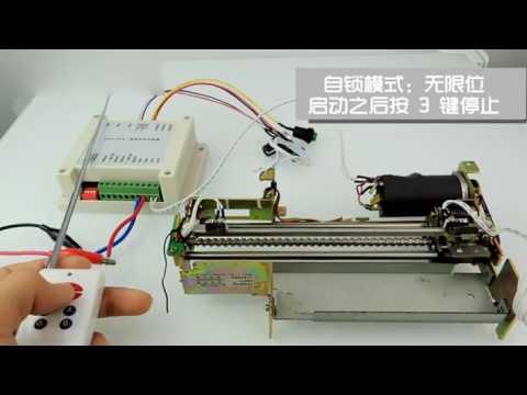Motor Schrittmotor Stepper motor Drehzahlregler mit Sender Fernbedienung manuelle Steuerung