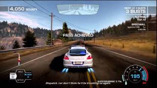 Need For Speed Hot Pursuit Porsche Cop Chase EMP bust and BMW M3 E92 police unlock