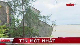 ⚡ Tin mới nhất | Sóng biển đánh sập hàng loạt nhà dân tại Quảng Ngãi