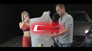 How To Install Computer Cut, Paint Protection Film (Clear Bra) On Your Front Bumper