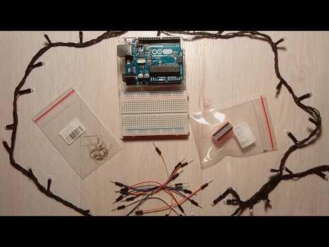 Матрешка Z, Arduino часть 6 - Эксперимент 7: Бегущий (по лезвию!?) огонек