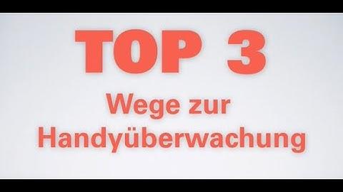 TOP 3: Handy orten, überwachen ohne Zugriff oder Zustimmung!