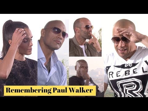 Fast & Furious Cast Get Emotional On The Loss Of Paul Walker
