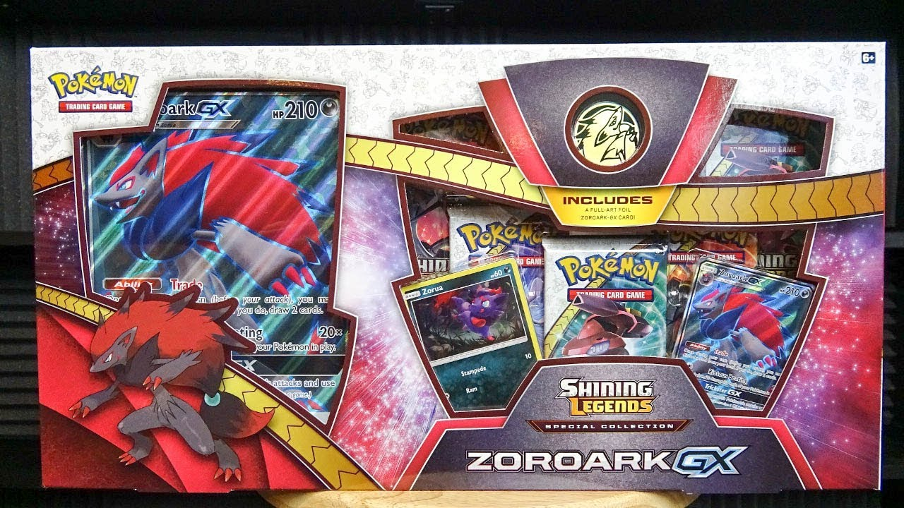 Pokémon TCG: Shining Legends Special Collection — Zoroark-GX