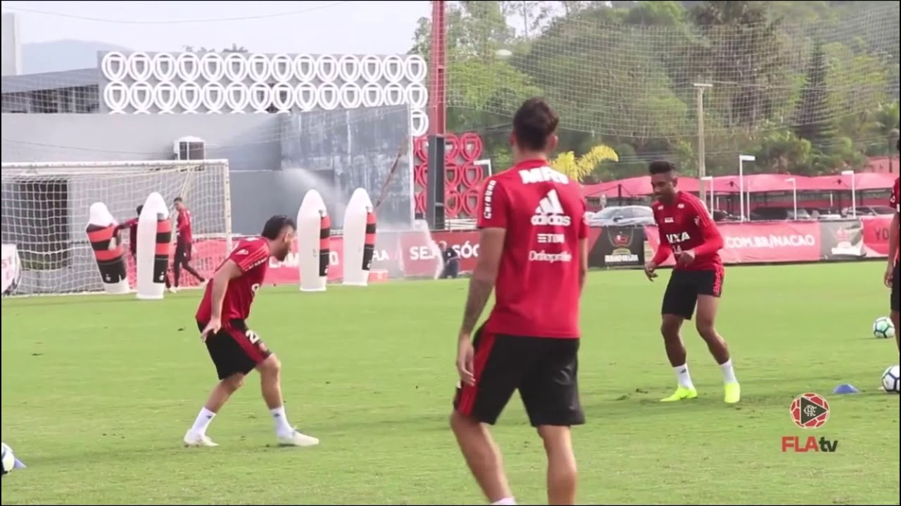 Reaction drills - Flamengo, Manchester United and Juventus