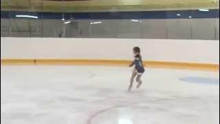 Даша Батяева, 9 лет, золото, 1-й юношеский, 23.10. 2014 г.