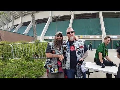 At Metallica Concert. Commonwealth Stadium, Edmonton