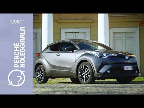 Toyota C-HR Hybrid | Perché noleggiarla... invece di comprarla