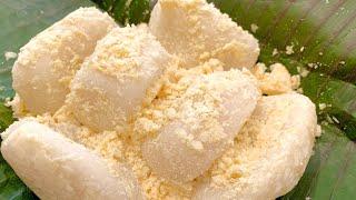 Chia sẻ cách làm bánh dày đỗ dẻo thơm khác lạ của Bếp Hoa